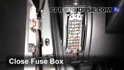 interior fuse box location: 2003-2010 opel meriva - 2003 opel meriva se  cosmo 1.6l 4 cyl.  carcarekiosk