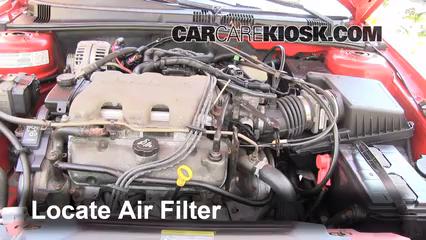 2003 Pontiac Grand Am SE1 3.4L V6 Sedan (4 Door) Air Filter (Engine)