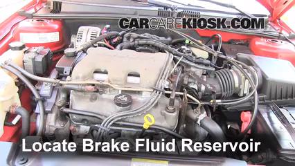 2003 Pontiac Grand Am SE1 3.4L V6 Sedan (4 Door) Brake Fluid