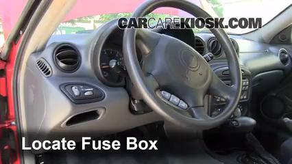 2003 Pontiac Grand Am SE1 3.4L V6 Sedan (4 Door) Fuse (Interior)