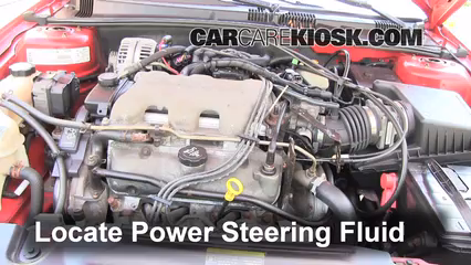 2003 Pontiac Grand Am SE1 3.4L V6 Sedan (4 Door) Power Steering Fluid