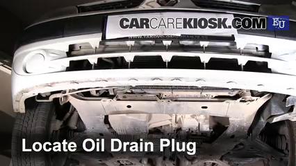 2003 Renault Clio dCi 1.5L 4 Cyl. Turbo Diesel Aceite Cambiar aceite y filtro de aceite
