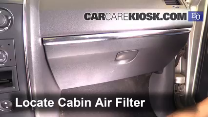 2003 Renault Megane Authentique 1.5L 4 Cyl. Turbo Diesel Air Filter (Cabin)