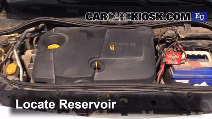 2003 Renault Megane Authentique 1.5L 4 Cyl. Turbo Diesel Windshield Washer Fluid