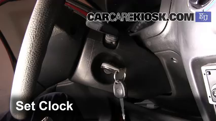 2003 Suzuki Wagon R 1.3L 4 Cyl. Reloj