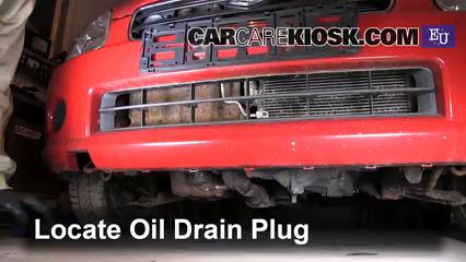 2003 Suzuki Wagon R 1.3L 4 Cyl. Aceite Cambiar aceite y filtro de aceite
