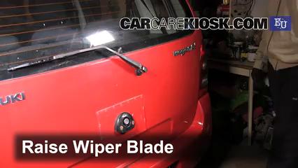 2003 Suzuki Wagon R 1.3L 4 Cyl. Escobillas de limpiaparabrisas trasero