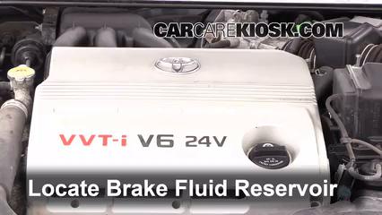 2003 Toyota Camry XLE 3.0L V6 Brake Fluid