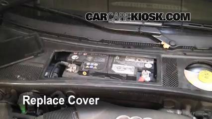 Battery Replacement 1998 2004 Audi A6 2004 Audi A6 3 0l V6