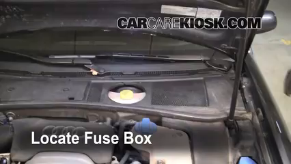 2004 Audi A6 3.0L V6 Fuse (Engine) Replace