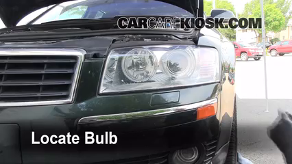 2004 Audi A8 Quattro L 4.2L V8 Lights