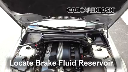 2004 BMW 330Ci 3.0L 6 Cyl. Convertible Brake Fluid