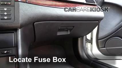 Interior Fuse Box Location: 1999-2006 BMW 330Ci - 2004 BMW 330Ci 3.0L 6  Cyl. ConvertibleCarCareKiosk