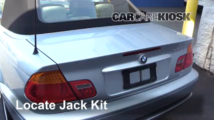 2004 BMW 330Ci 3.0L 6 Cyl. Convertible Jack Up Car