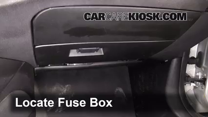 interior fuse box location: 2003-2008 bmw z4
