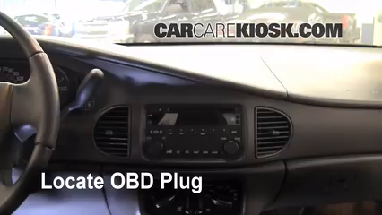 Obd Plug on 2002 Buick Lesabre Battery