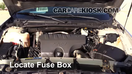 replace a fuse 2000 2005 buick lesabre 2004 buick lesabre custom buick 3.1 engine diagram locate engine fuse box and remove cover