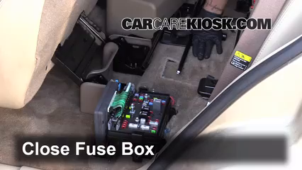 interior fuse box location 2004 2007 buick rainier 2004 buick 2005 Isuzu Ascender Cluster Recall 2006 isuzu ascender fuse box location