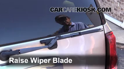 2004 Buick Rainier CXL Plus 4.2L 6 Cyl. Windshield Wiper Blade (Rear)