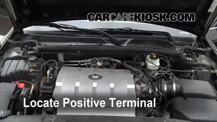 How To Jumpstart A 2000 2005 Cadillac Deville 2004 Cadillac