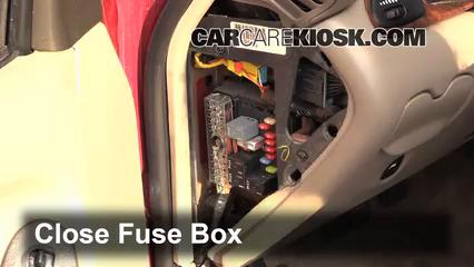 interior fuse box location: 2004-2005 chevrolet classic - 2004 chevrolet  classic 2 2l 4 cyl
