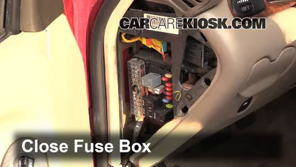interior fuse box location 2004 2005 chevrolet classic 2004 rh carcarekiosk com Chevy S10 Fuse Box Diagram Chevy Truck Fuse Box