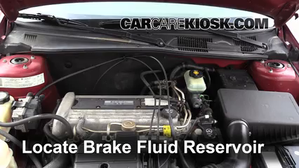 2004 Chevrolet Classic 2.2L 4 Cyl. Brake Fluid