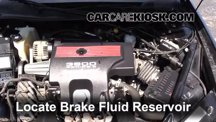 2004 Chevrolet Impala SS 3.8L V6 Supercharged Brake Fluid