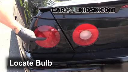 2004 chevrolet impala ss 3 8l v6 supercharged lights brake light (replace  bulb)
