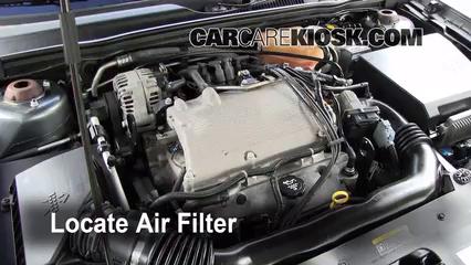 2004-2008 Chevrolet Malibu Engine Air Filter Check - 2004 ...