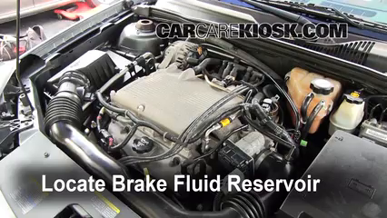 2004 Chevrolet Malibu LS 3.5L V6 Brake Fluid