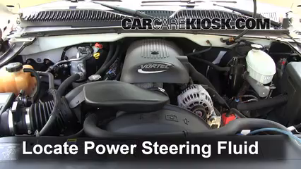 2005 Chevrolet Avalanche 1500 LS 5.3L V8 FlexFuel Power Steering Fluid