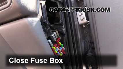 interior fuse box location 1997 2005 chevrolet venture 2004