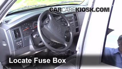 interior fuse box location 1997 2004 dodge dakota 2004 dodge rh carcarekiosk com