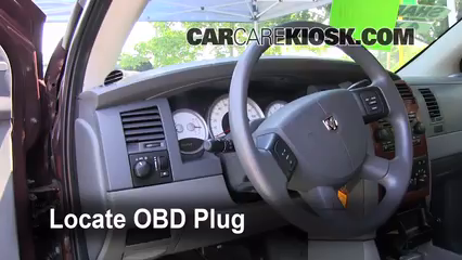 Engine Light Is On: 2004-2009 Dodge Durango - What to Do - 2004