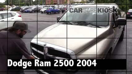 2004 Dodge Ram 2500 ST 5.9L 6 Cyl. Turbo Diesel Crew Cab Pickup (4 Door) Review