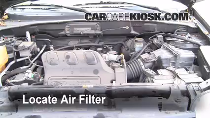 air filter how to 2001 2004 ford escape 2004 ford escape limited rh carcarekiosk com 2012 Ford Escape Manual manual ford escape 2004
