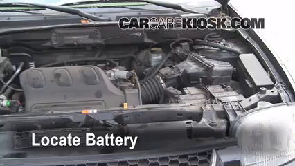 2004 Ford Escape Limited 3.0L V6 Battery Replace