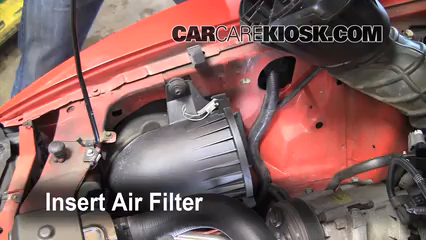 Air Filter How To 1994 2004 Ford Mustang 2004 Ford Mustang 3 9l