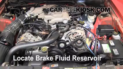 2004 Ford Mustang 3.9L V6 Coupe Brake Fluid