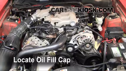 2004 Ford Mustang 3.9L V6 Coupe Oil