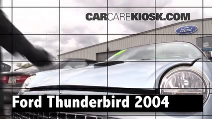2004 Ford Thunderbird 3.9L V8 Review
