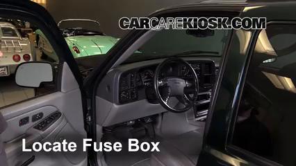 Interior Fuse Box Location: 1999-2006 GMC Yukon - 2005 GMC ... on