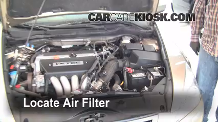 Attractive Air Filter How To: 2003 2007 Honda Accord