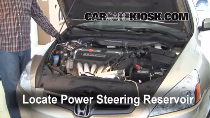 Follow These Steps to Add Power Steering Fluid to a Honda