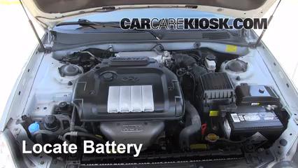 Battery Replacement 2001 2006 Kia Optima 2006 Kia Optima