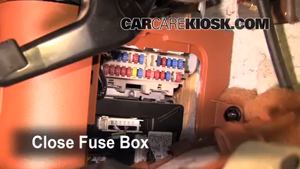 interior fuse box location: 2003-2008 infiniti fx45 - 2004 infiniti fx45  4 5l v8