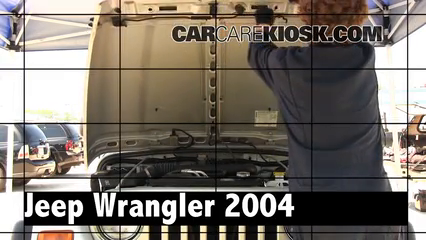 2004 Jeep Wrangler Rubicon 4.0L 6 Cyl. Review