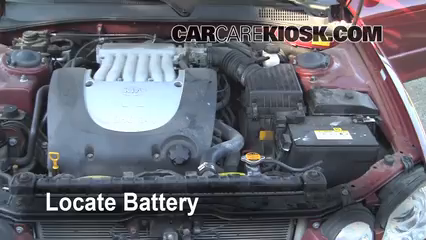 2004 Kia Optima EX 2.7L V6 Battery Clean Battery & Terminals