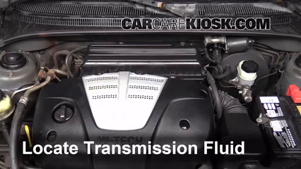 Transmission Fluid Part on 2004 Kia Sorento Repair Manual